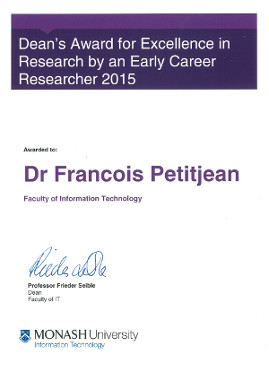 Dean's Award for Excellence in Research by an Early Career Researcher